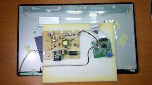 reparatie monitor led